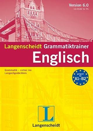 Langenscheidt Grammatiktrainer 6.0 Englisch