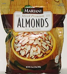MARIANI Sliced Premium Almonds All Natural - 32 Oz