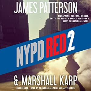 nypd red 2 audiobook james patterson marshall karp