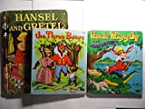 img - for 3 Collectible Children's Books: the Three Bears, Hansel and Gretel and Uncle Wiggily and the Alligator book / textbook / text book