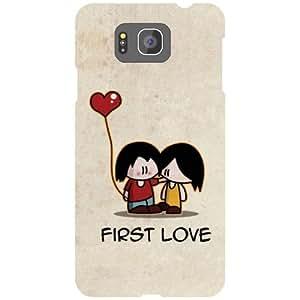 Samsung Galaxy Alpha G850 Back cover - First Love Designer Cases