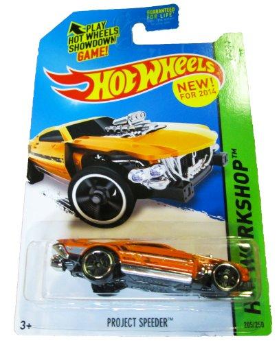 Hot Wheels - 2014 HW Workshop 205/250 - HW Garage - Project Speeder - 1