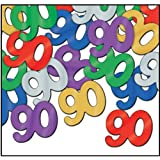 Fanci-Fetti 90 Silhouettes (multi-color) Party Accessory  (1 count) (.5 Oz/Pkg)