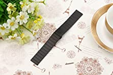 buy Weston Jewelers® Stainless Steel Metal Strap Replacement Watchband For 20Mm Width Moto 360 2Nd Gen 42Mm (Male),Samsung Galaxy Gear S2 Classic,Pebble Time Round Watches (Black)