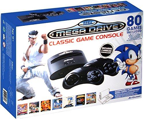 Sega - Mega Drive / Genesis Classic Console + 80 Giochi + Slot per Cartucce - Edizione Sonic & Virtua Fighter 2
