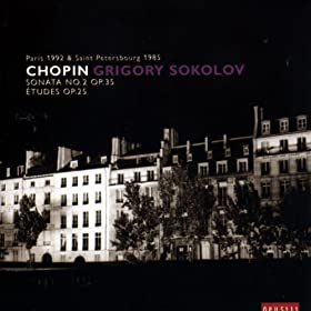 Chopin: Sonata No 2 op. 35, �tudes op. 25