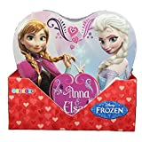 Disney Frozen Heart Shaped Embossed Tin with Candy