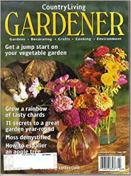 country living gardener magazine vol 6 no 1 february