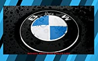 Bmw Emblem Logo Front Hood Or Rear Trunk - 2 Pins Badge Symbol Roundel 82mm by BMW