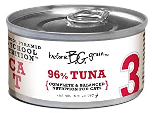 Merrick Before Grain #3 Tuna Paté Style Cat Food, 3.2 Ounce Can (24 Count Case)