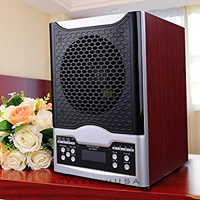 New Living 7-Stage Air Purifier Cleaner Hepa Ionic Ozone UV Generator LCD Remote