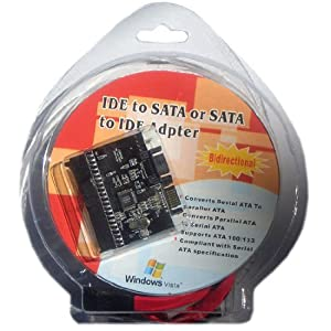 HDE IDE to SATA or SATA to IDE Adapter
