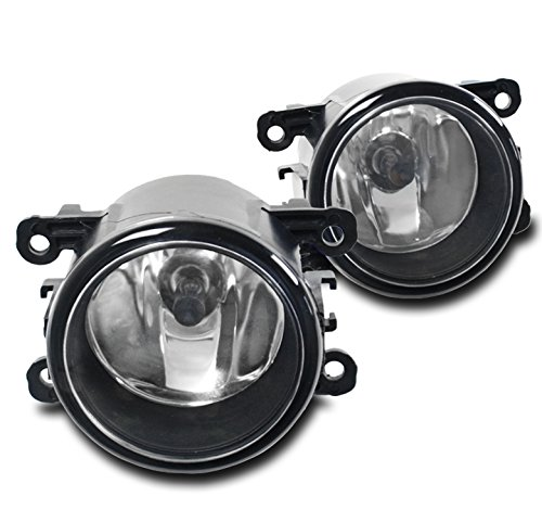 ZMAUTOPARTS Acura / Ford / Honda / Jaguar / Lincoln / Subaru / Suzuki Bumper Driving Fog Lights Lamps Chrome (05 Ford Mustang Bumper Parts compare prices)