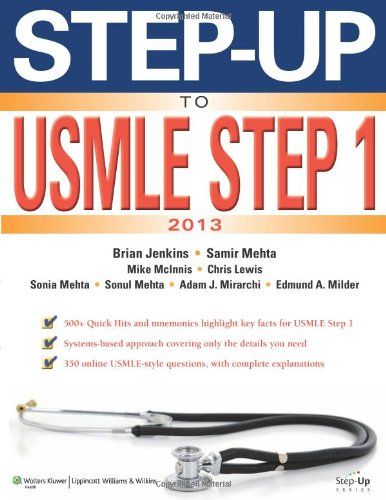 Step-Up To Usmle Step 1: The 2013 Edition (Step-Up Series) front-1047220