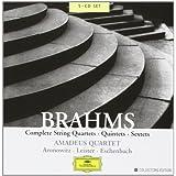 "Brahms: Streichquartette, -quintette, -sextettevon ""Amadeus Quartett"""
