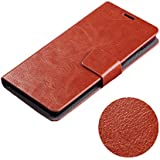 Ueasy Elegant Ultra-Thin Leather Case for the Huawei Honor 3C with Stand Function and Card Holders For Huawei Honor 3C Protective Cover Case Stand Case (Brown)
