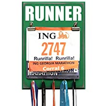 Medal and Bib Display RUNNER
