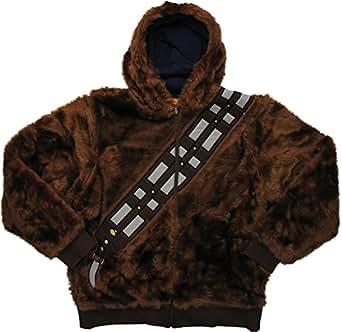 Star Wars Chewbacca Han Solo Reversible Hoodie Medium