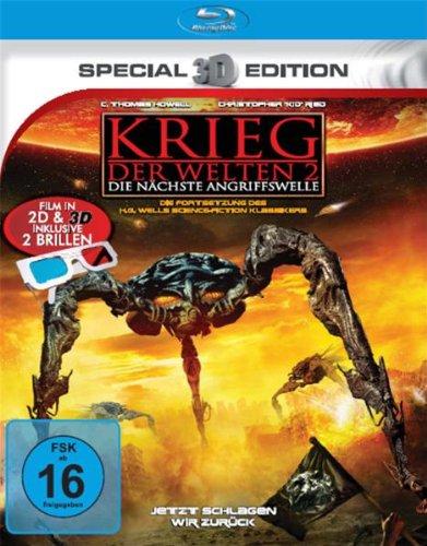 Krieg der Welten 2 (3D-Special Edition) [Blu-ray]