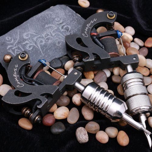 Compass Tattoo Machine Victoria Liner Sevilla Shader Steel Frame by Compass [並行輸入品]