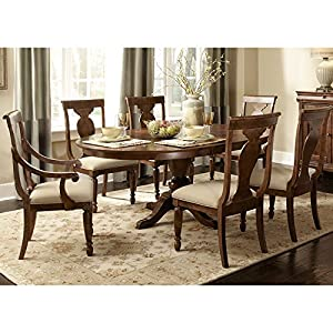 Rustic Traditions Oval Dining Room Set Table Chair Sets