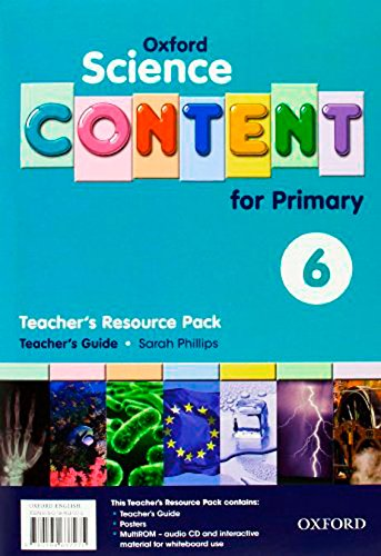 Science Content 6th Primary. Pack (Teacher's Resource)