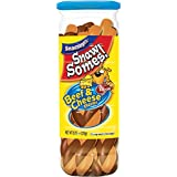 SnawSomes! Beef & Cheese Snacks for Dogs, 9.75-Ounce Canisters (Pack of 5)