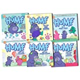 Humf Collection 6 Touchy Feely & Board Story Books Set Pack by Andrew Brenner RRP: �41.94 (Humf and the Balloon, Humf and his Favourite Book, Humf and the Tickle Monster, Humf is a Furry Thing, Humf and the Big Boots, Fun in the Bubbles)by Andrew Brenner