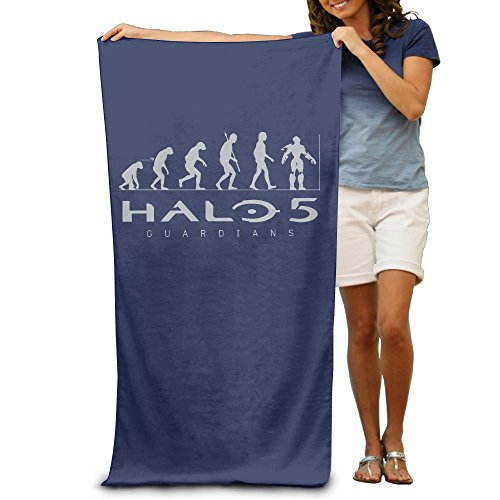 LCYC Halo 5 Guardians Adult High Quality Beach Or Pool Hooded Towel 80cm*130cm (Halo Master Chief Collectors Edition)