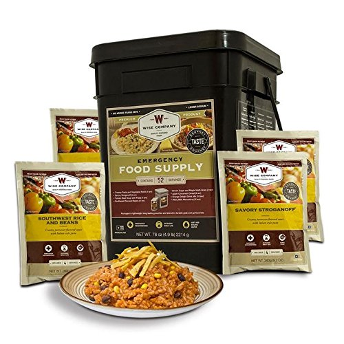 Wise Company 52 Serving Wise Prepper Pack (Wise Company Emergency Food compare prices)