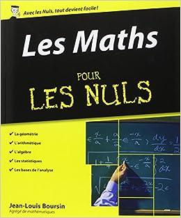Les maths pour les nuls french edition jean louis boursin 9782754000932 - Le tarot pour les nuls ...