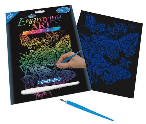 Royal and Langnickel Rainbow Engraving Art, Butterflies