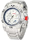 red line Men's RL-90008-22S Racer Silver Stainless steel Watch