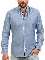 Signore Dei Mari Camisa Hombre Carlson (Azul)