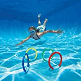 Intex Underwater Swimming/Diving Pool Toy Rings - Assorted Colors