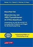 echange, troc Klaus P. Feld - Bilanzierung von ABS-Transaktionen im IFRS Abschlu