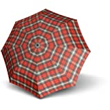 Knirps T2 Duomatic Folding Umbrella 28 cm rot check