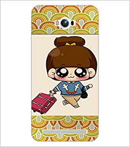 PrintDhaba Cartoon D-4723 Back Case Cover for ASUS ZENFONE MAX ZC550KL (Multi-Coloured)