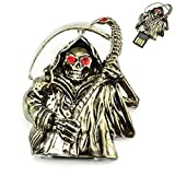 Crystal Death Design 32GB USB Flash Drive (Black)