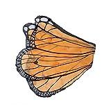 Fanciful Butterfly Wings, in Orange