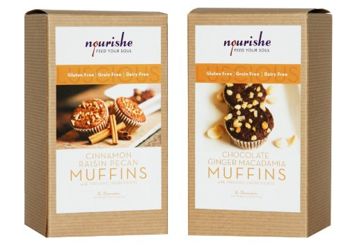 Nourishe Gluten & Grain Free Muffin Mix - Sampler Pack