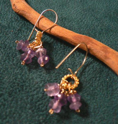 Amethyst Dangle Earrings