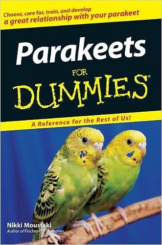 Parakeets For Dummies written by Nikki Moustaki
