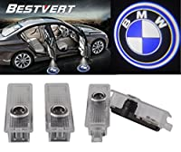 BESTVERT Car LED Projector Door Lamp Ghost Shadow Welcome Light Laser Emblem Logo Kit for BMW Special Series 3 5 6 7 Z GT - 1 Pair from Greenyourlife