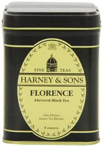 Harney & Sons Florence Loose Leaf Tea, 4 Ounce Tin