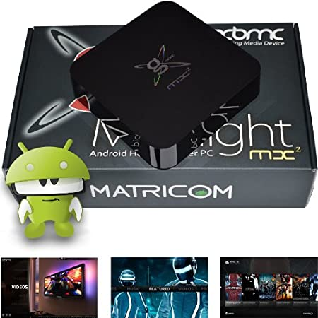 About G-Box Midnight MX2: The G-Box Midnight MX2 by Matricom brings high performance HD streaming from the internet and local media to your TV. The powerful dual core MX processor with the Mali-400 3D graphics engine provides stellar performance for ...