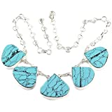 925-Silver Gorgeous Turquoise Gemstone Necklace