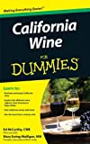 California Wine For Dummies (0470376074) by McCarthy