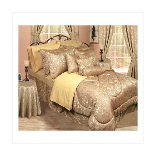 Amazon.com : 30 Pc Elegant Champagne Gold Bedding Set : Other Products