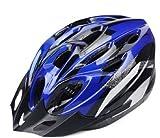 自転車用 安心安全ヘルメット(青銀)